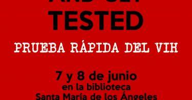 Cartel pruebas VIH